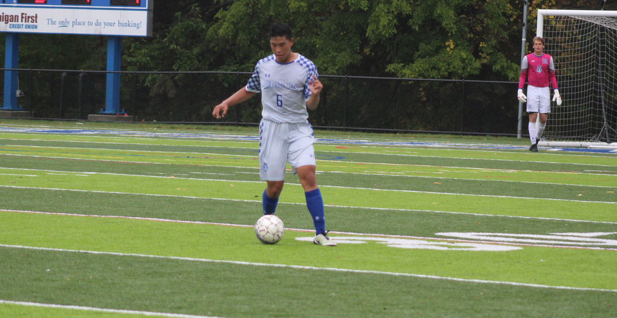 Michael Avila had one goal in today's 4-2 win over Madonna.