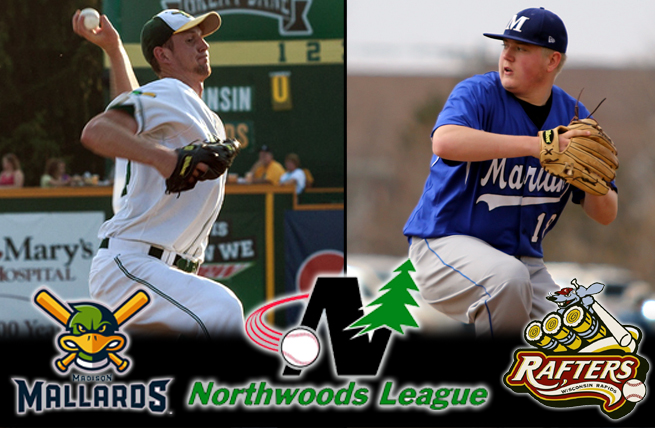Two Marian Sabres Sign Northwoods League Contracts