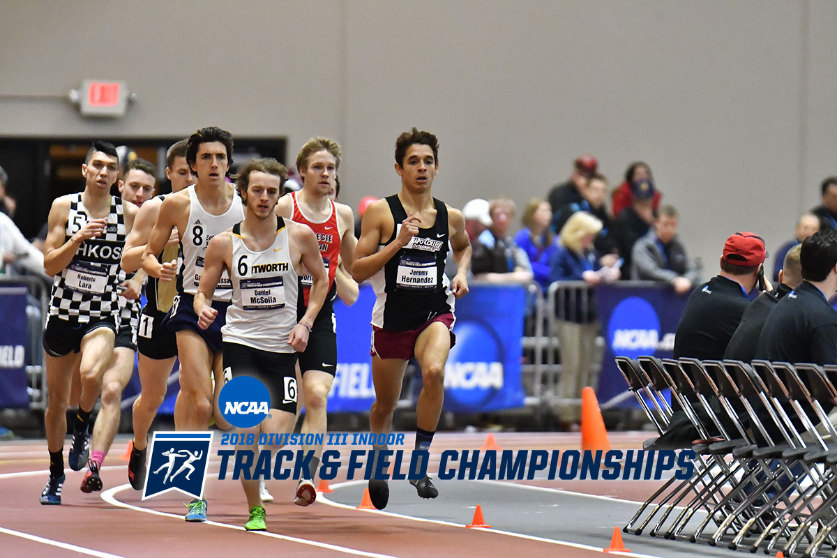 McSolla Concludes Career at NCAA Indoor Track Championships
