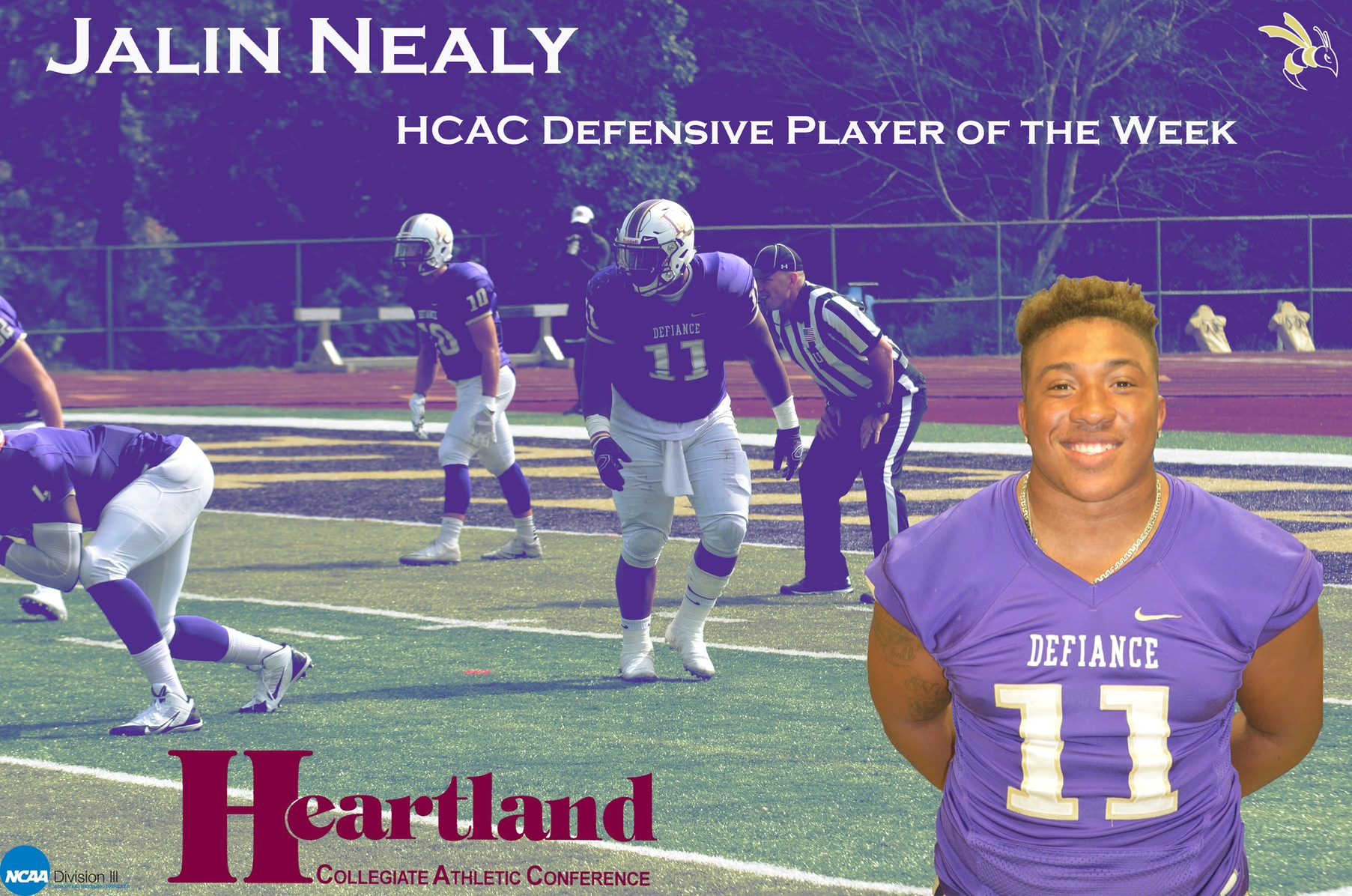 Nealy Named HCAC Player of the Week