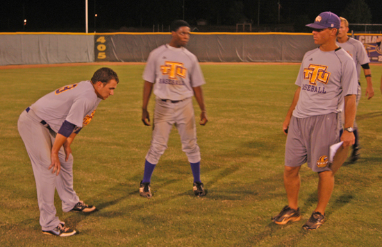 The Tennessee Tech baseball team holds their annual Purple and Gold Series this week