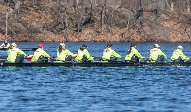 Rowing Opens Up Spring Season at Lake Quinsigamond