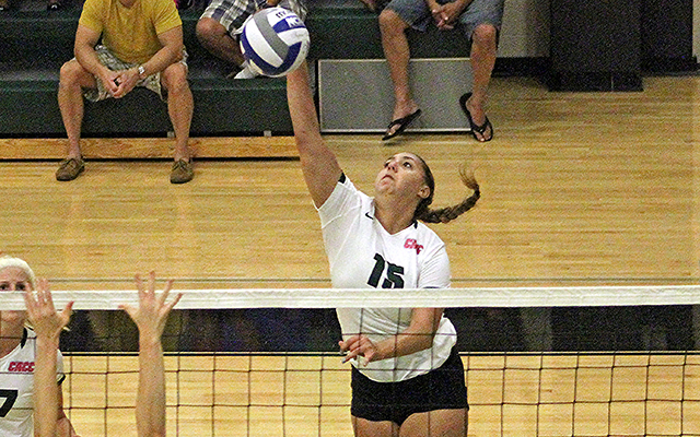 Kaitlin DiGiacinto Reaches 1,000 Career Kills as Wilmington Volleyball Splits on Final Day of Wildcat Regional Invitational