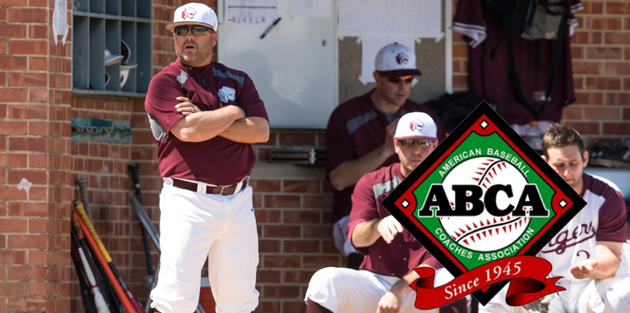 Trinity's Scannell Named ABCA/Diamond West Region Coach of the Year