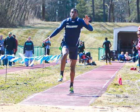 Darius Flowers breaks his own long jump school record at Paul Kaiser Classic