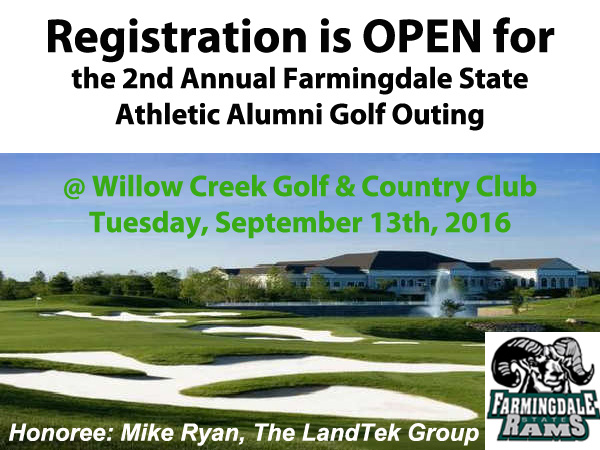 Registration is Open for the 2nd Annual Athletic Alumni Golf Outing
