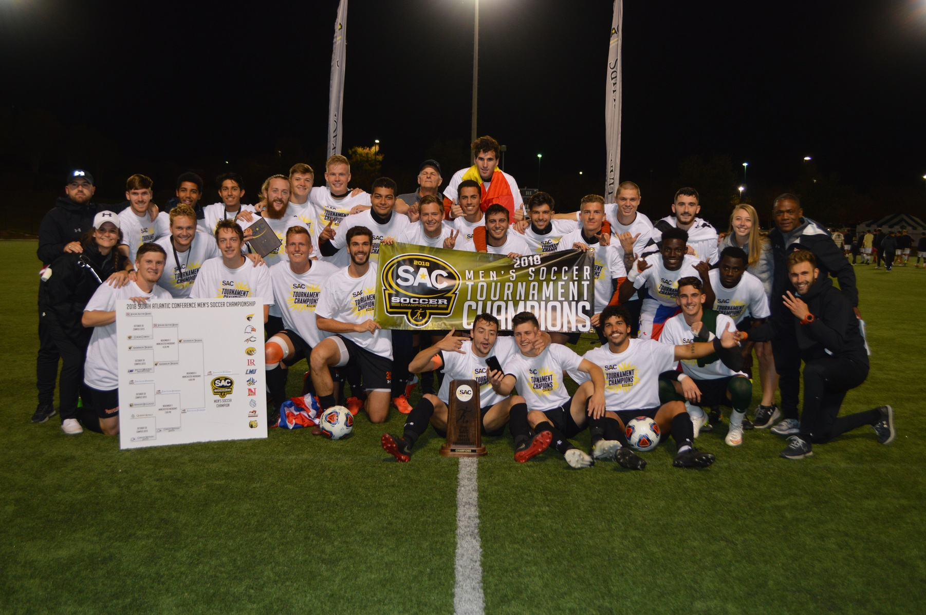 Pioneers beat Anderson 2-1 to win SAC Championship