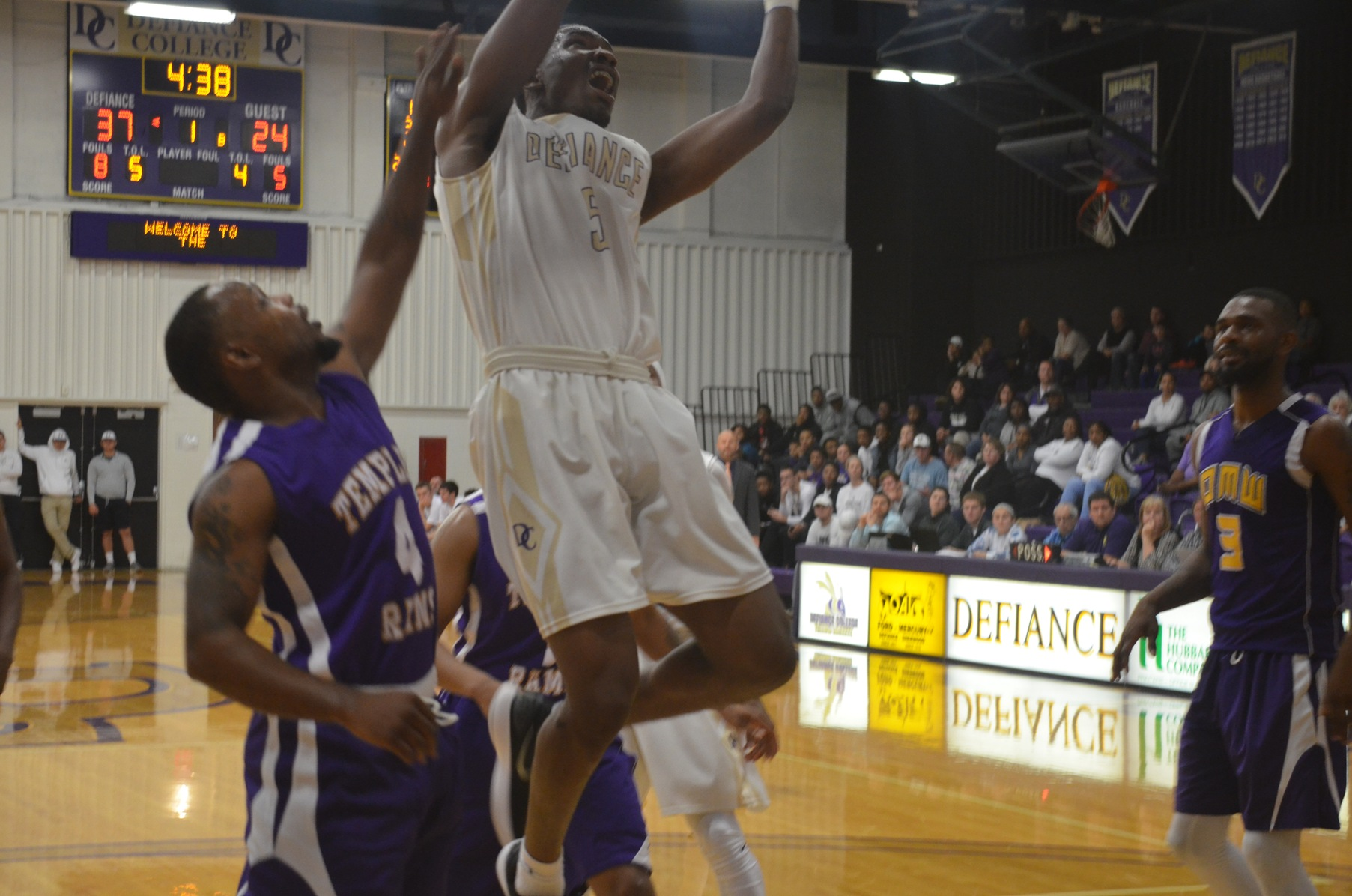 Late Comeback Falls Short as DC Falls 77-65 to Rose-Hulman