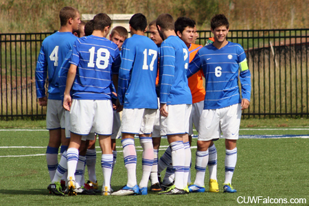 Men's Soccer falls in NAC semifinals