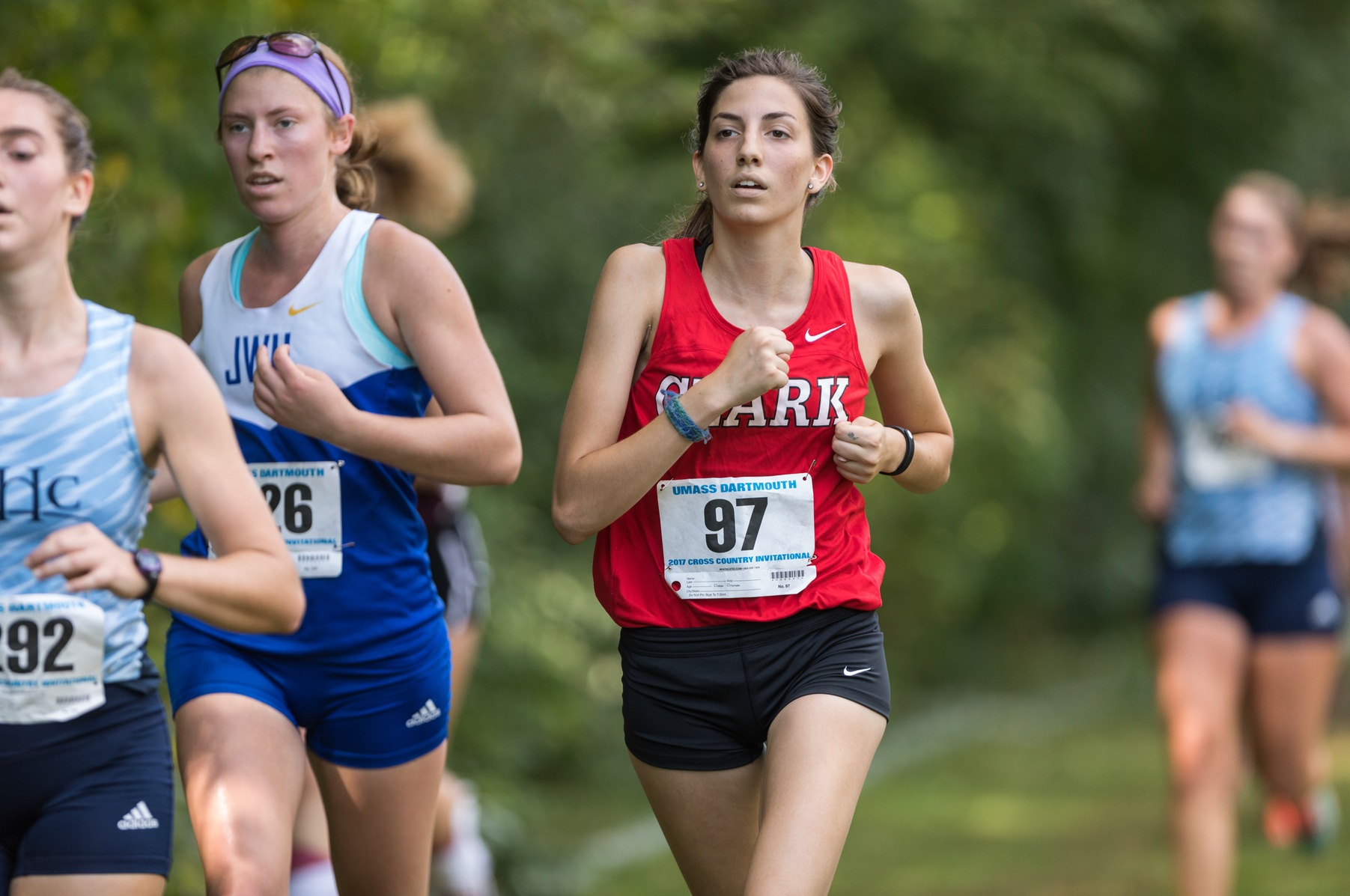Clark Competes in NEWMAC Cross Country Championship