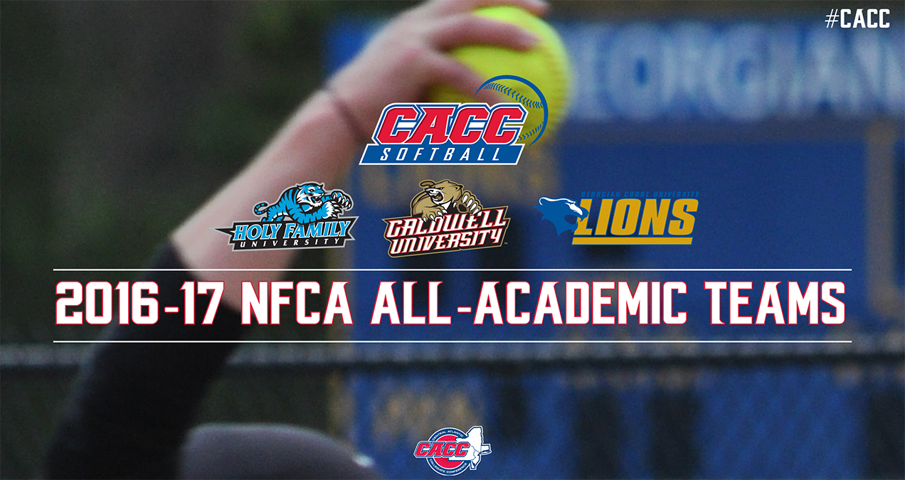 Three CACC Softball Programs Earn All-Academic Team Status from NFCA