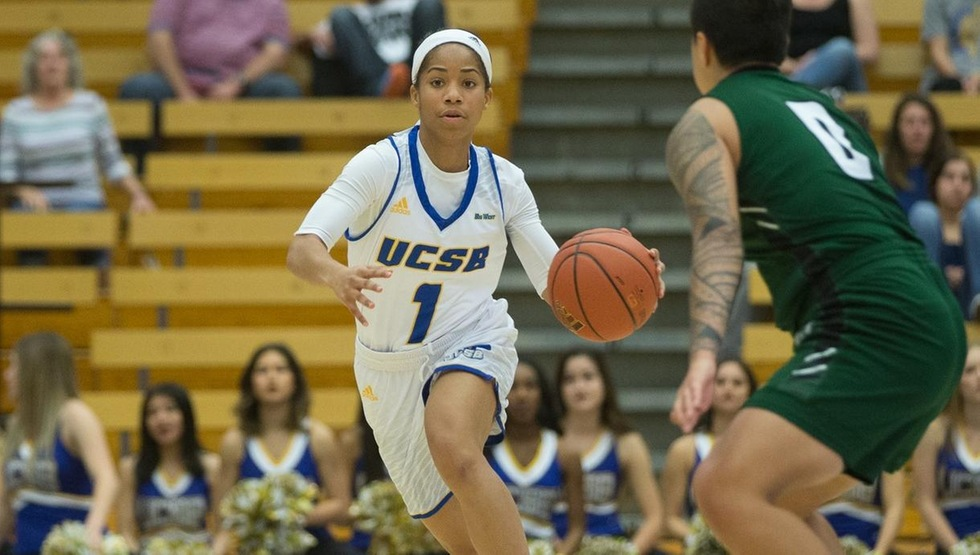 Drea Toler recorded her first career double-double after dishing out a career-high 10 assists and scoring 10 points on Saturday night. (Photo by Eric Isaacs)