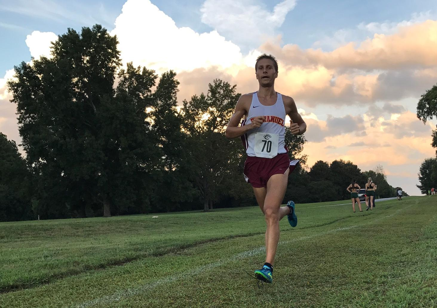 Men's Cross Country Race to New Personal Bests!