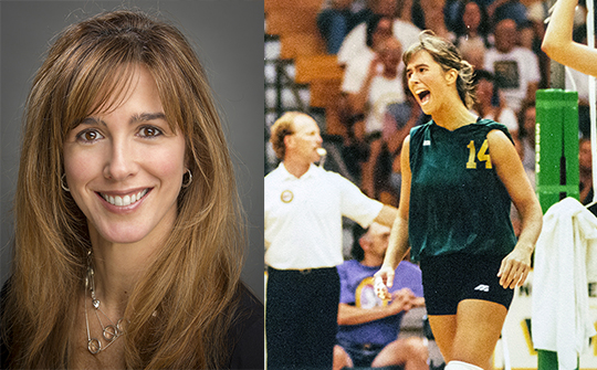 NMU Sports Hall of Fame Inductee - Lucia (Pereira) Shyiak