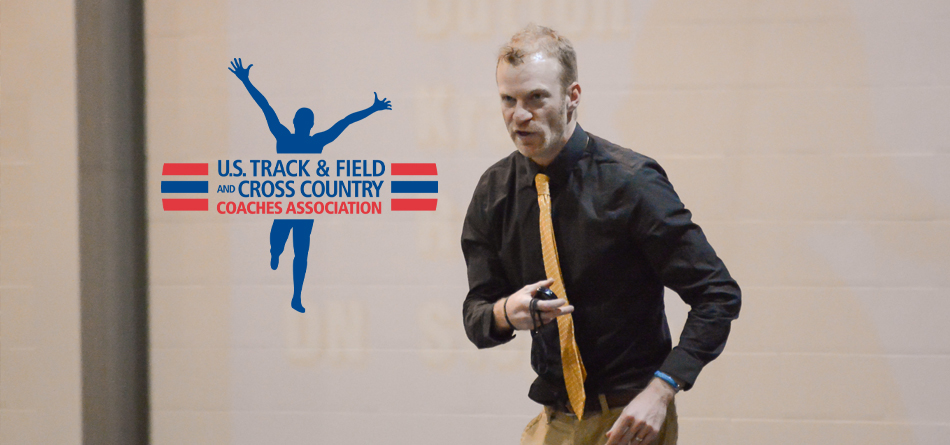 Coordinator of Cross Country and Track and Field and Assistant Track and Field Coach Joe Eby was named USTFCCCA Great Lakes Region Women's Assistant Coach of the Year