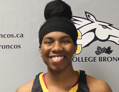 Brittney Thibeaux, Olds College, Women's Basketball