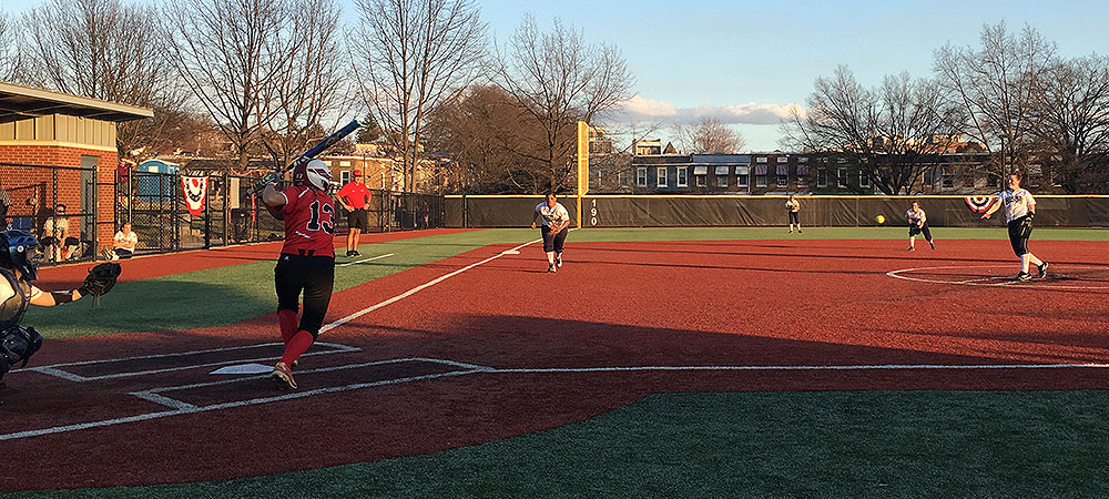Gallaudet softball drops season opener to Catholic