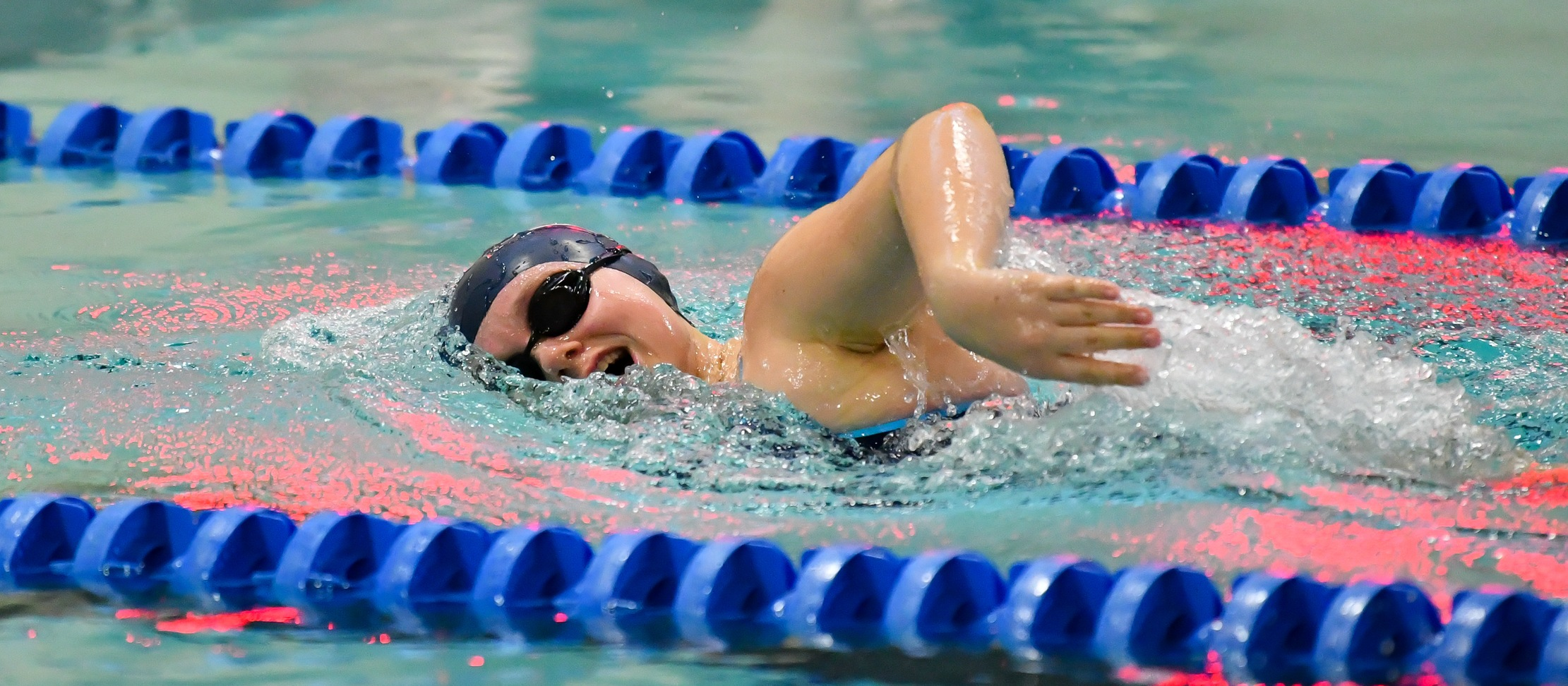 Swimming and Diving Suffers Setback Versus Wellesley