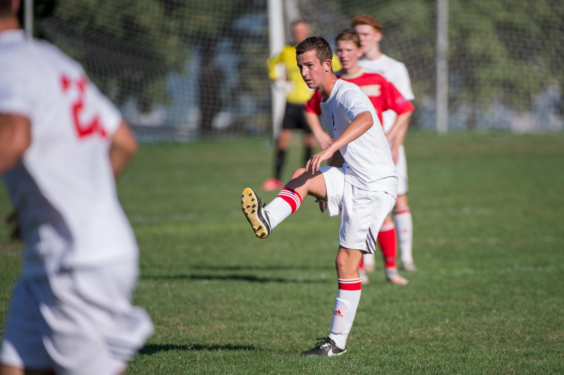Men's soccer comes up short against Goldey-Beacom