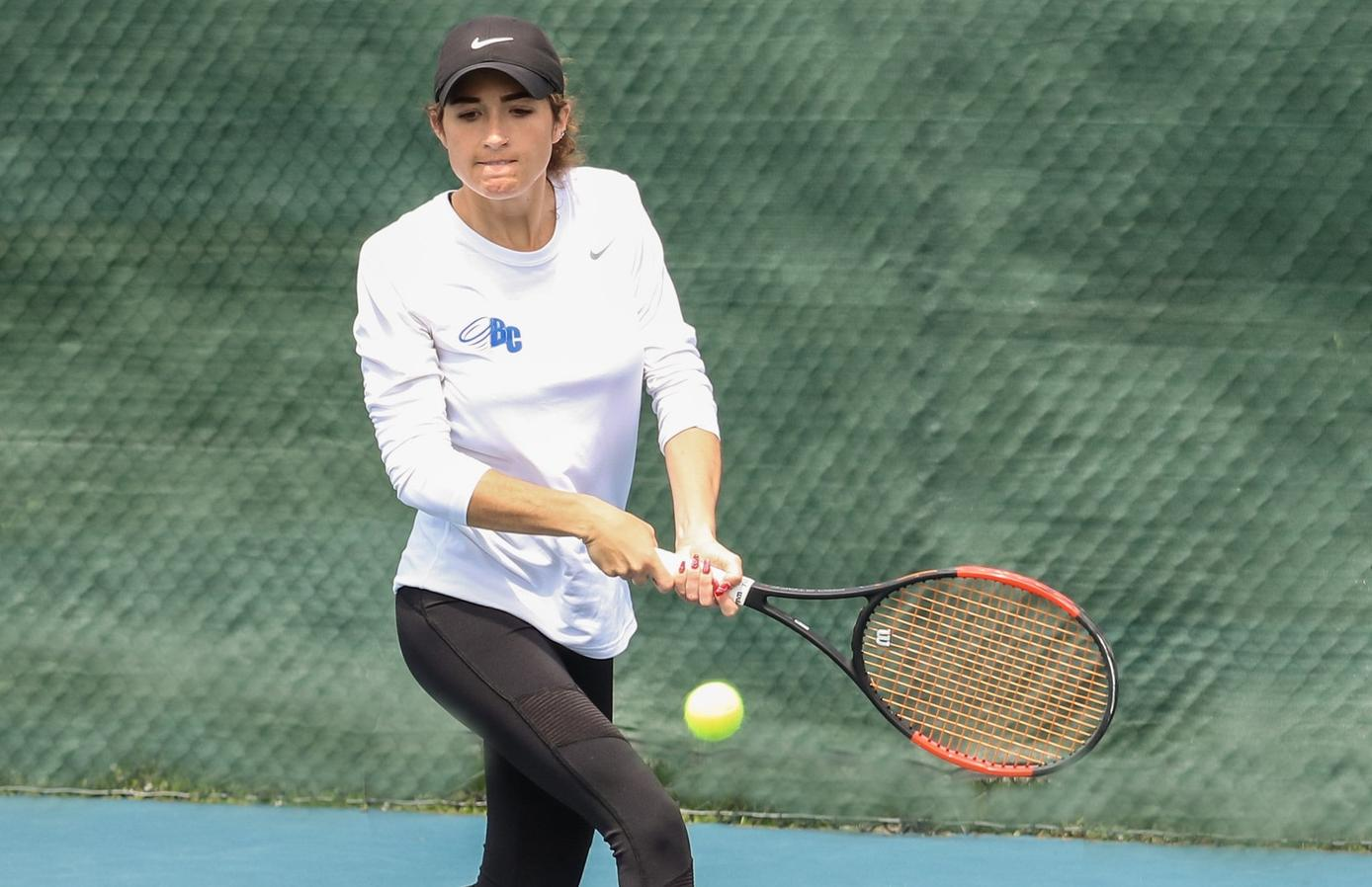 Samantha Sepe Wins Number-One Singles Match in Team Setback
