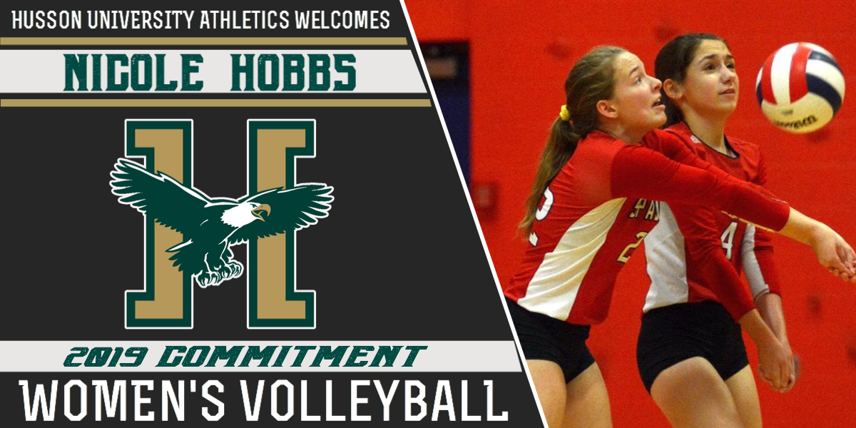 Nicole Hobbs Commits to Play for 2019 Husson Volleyball Team