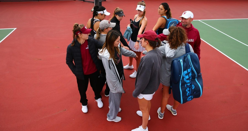 Women's Tennis Hosts Two WCC Matches This Weekend