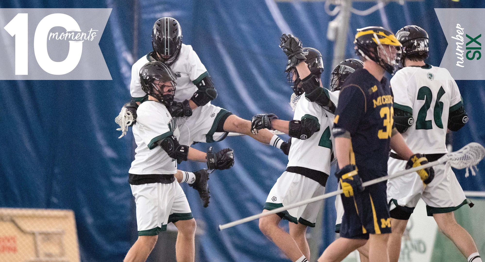 2016-17 CSU Athletics Top 10 Moments | #6 Men's Lacrosse Hosts Michigan for Inaugural Game