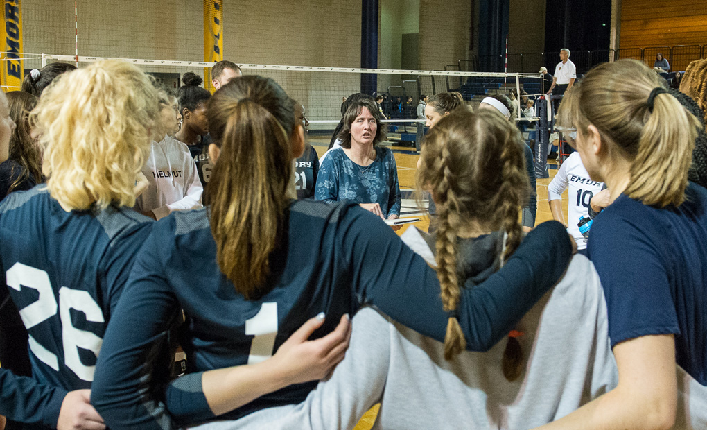 Emory Volleyball Gears Up For NCAA Regional Play
