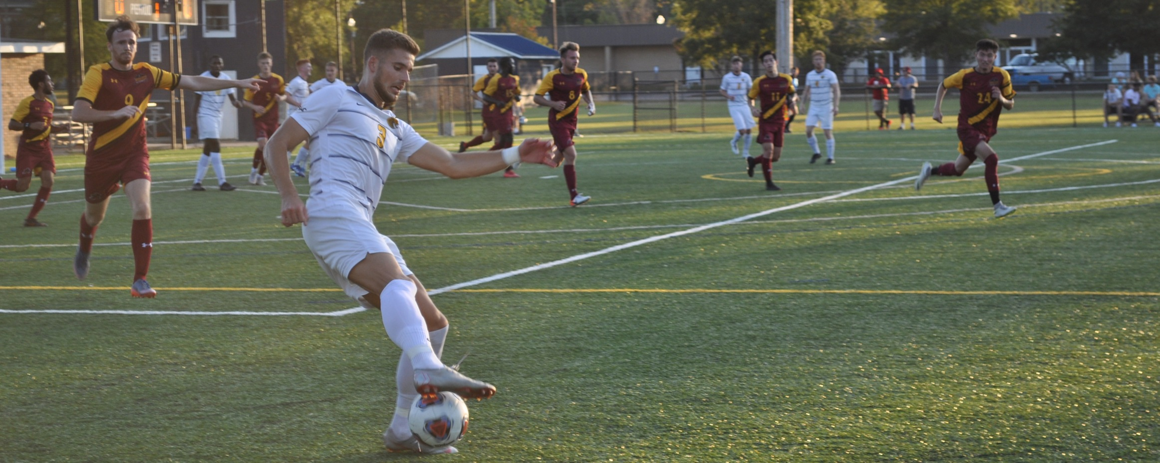 Four Second Half Goals Fuel Coker's Win Over Catawba