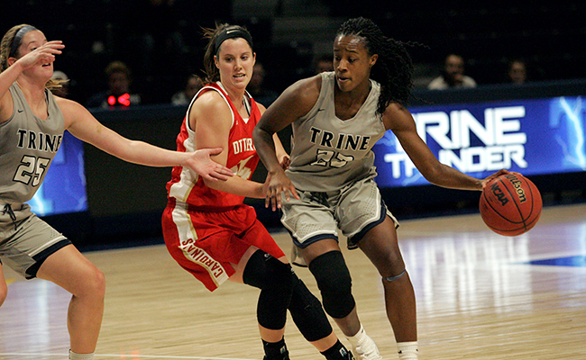 Trine Never Trails in Win Against Otterbein