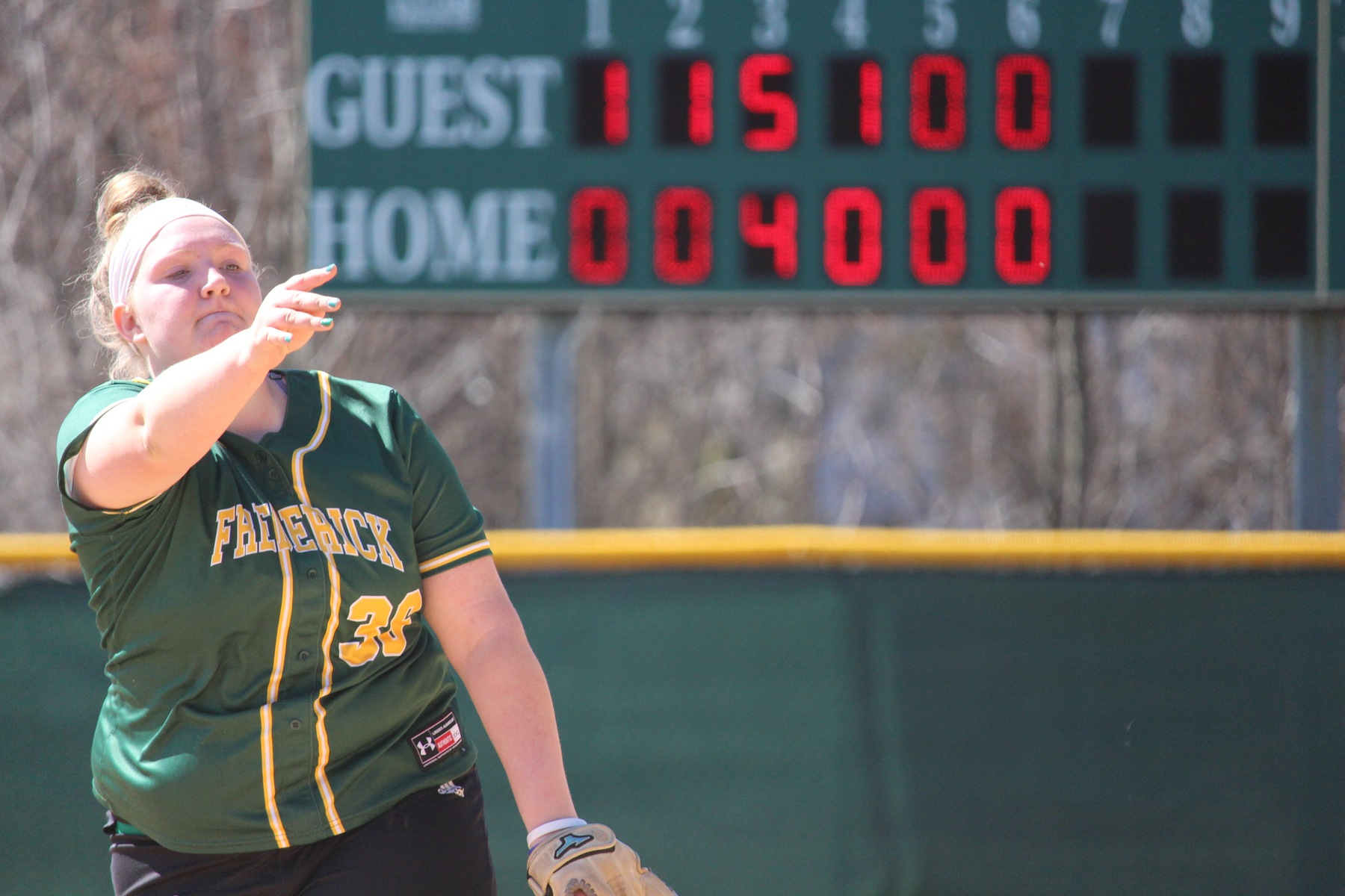 Bentley Picks Up Win On the Mound Over Genesee CC