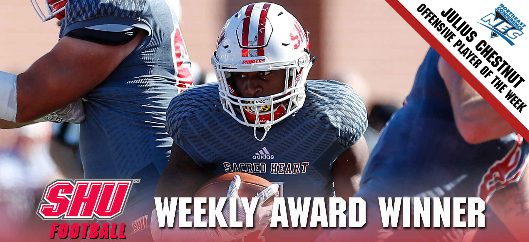 Julius Chestnut Named NEC Offensive Player of the Week