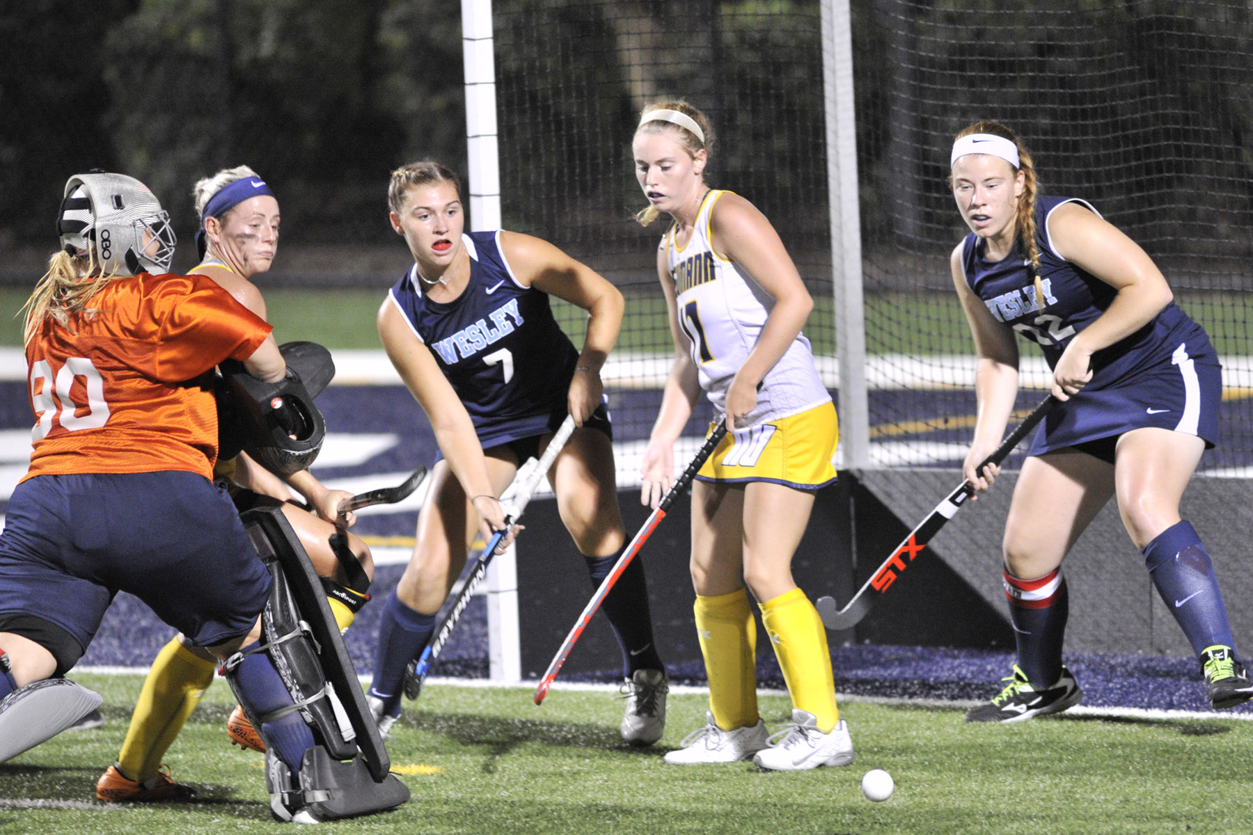 Wolverines Honor Field Hockey Mentors, Fall to Juniata