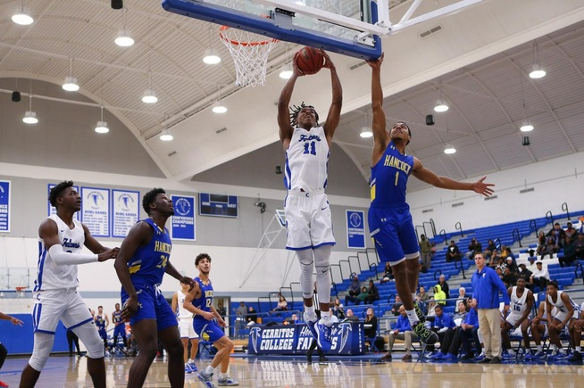 Jaishon Forte had 12 points and seven rebounds for the Falcons