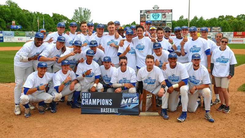 Baseball Claims NEC Championship; Hickey Earns 500th Win at CCSU