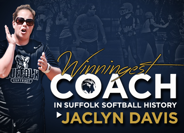 Davis Becomes Suffolk Softball Winningest Coach in 8-0 Shutout at Emerson