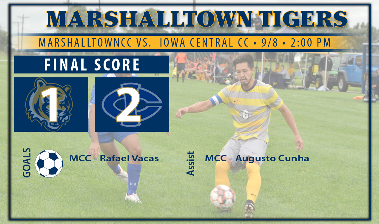 Tigers Fall to Tritons of Iowa Central