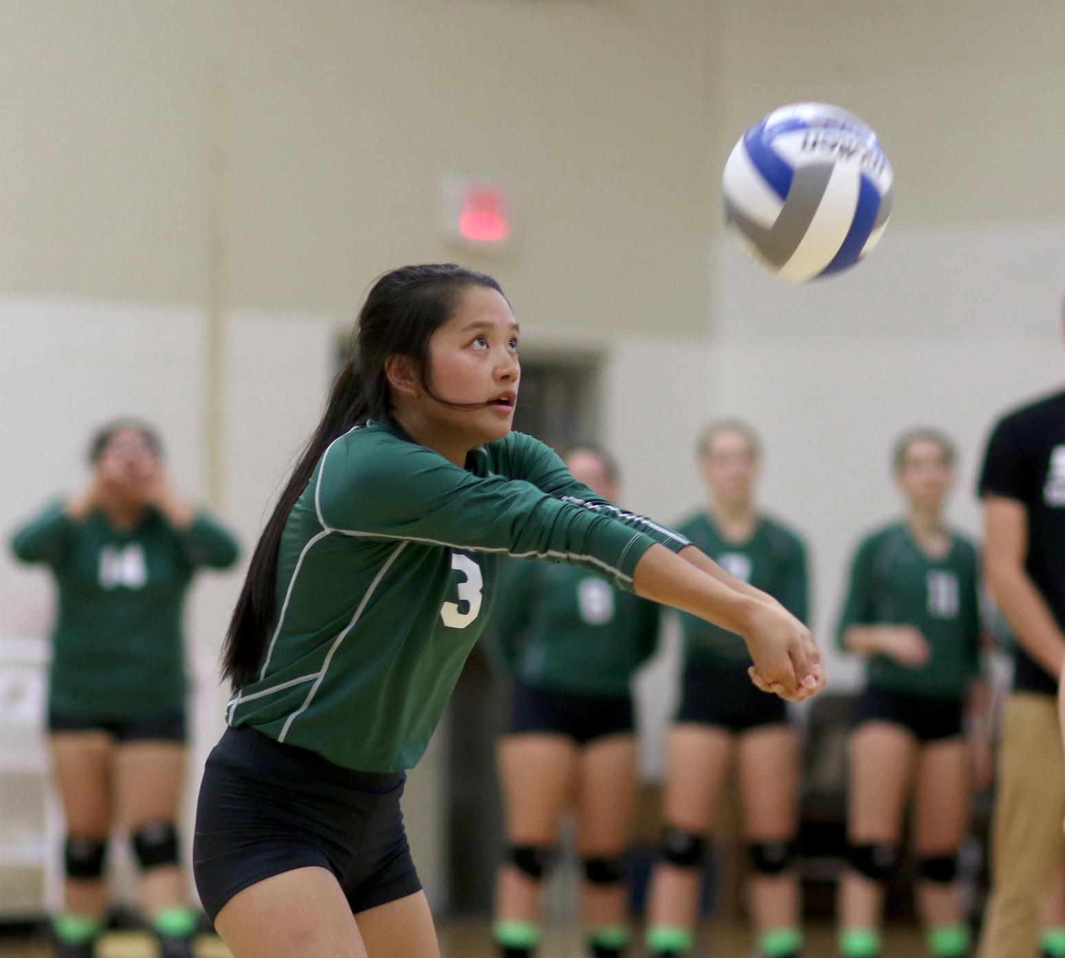 Sage volleyball faces tough foes in opening night of SUNY-New Paltz Tournament