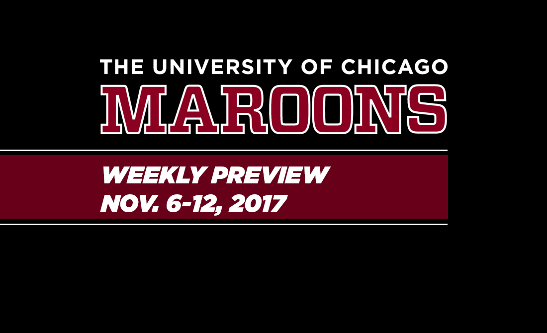 UChicago Athletics Preview: Nov. 6-12