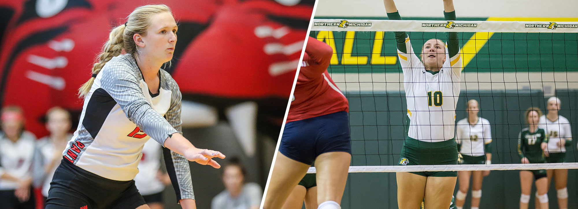 Davenport's Dill, Northern Michigan's Kuehn Tabbed GLIAC Players of the Week