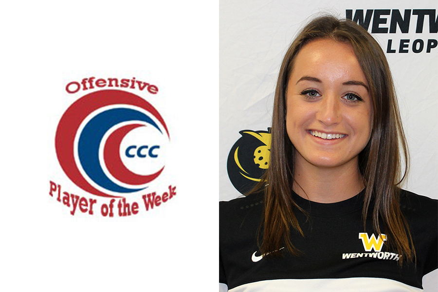 Scarpace Named CCC Offensive Player of the Week