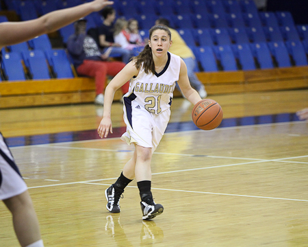 Gallaudet women's basketball receives votes in national polls