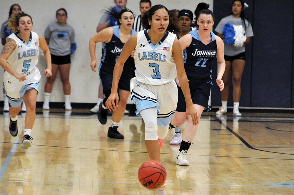 Lasell Women's Basketball downs NVU-Johnson in season opener