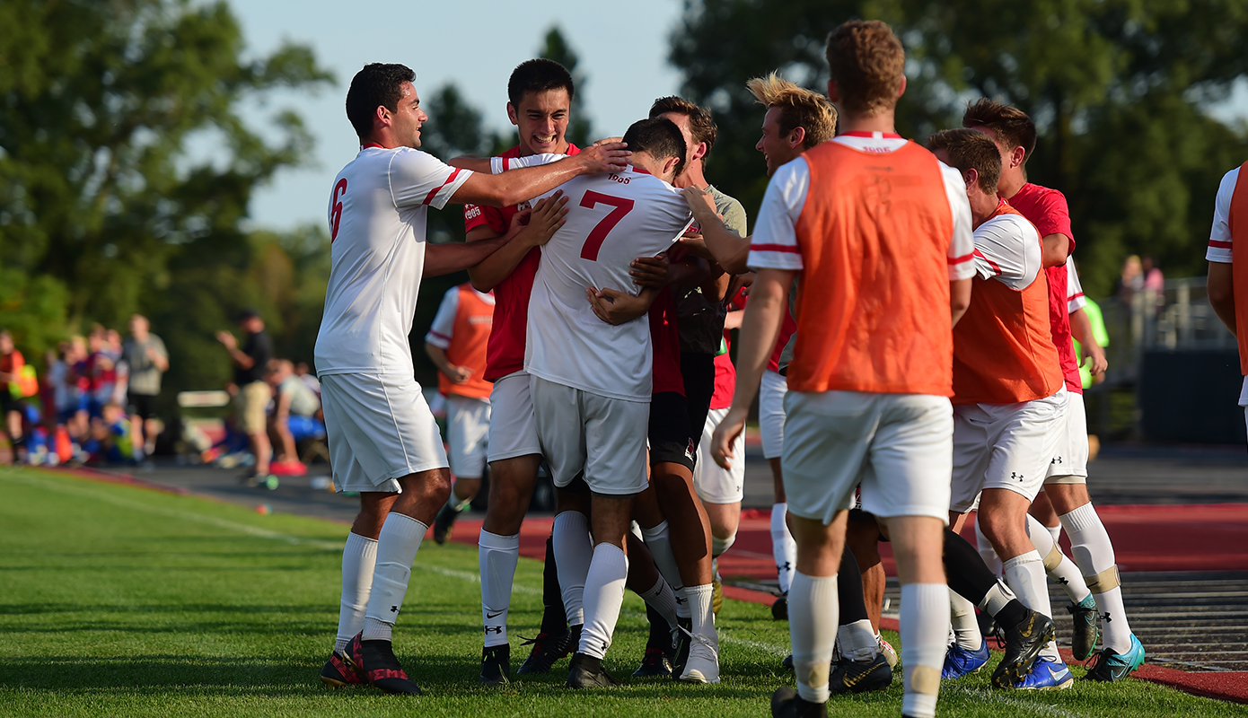 Jannelli's Hat Trick Leads Men's Soccer Past Hampden-Sydney, 3-0