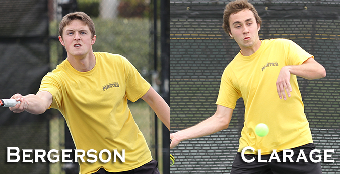 Bergerson, Clarage Named to All-SCAC Team