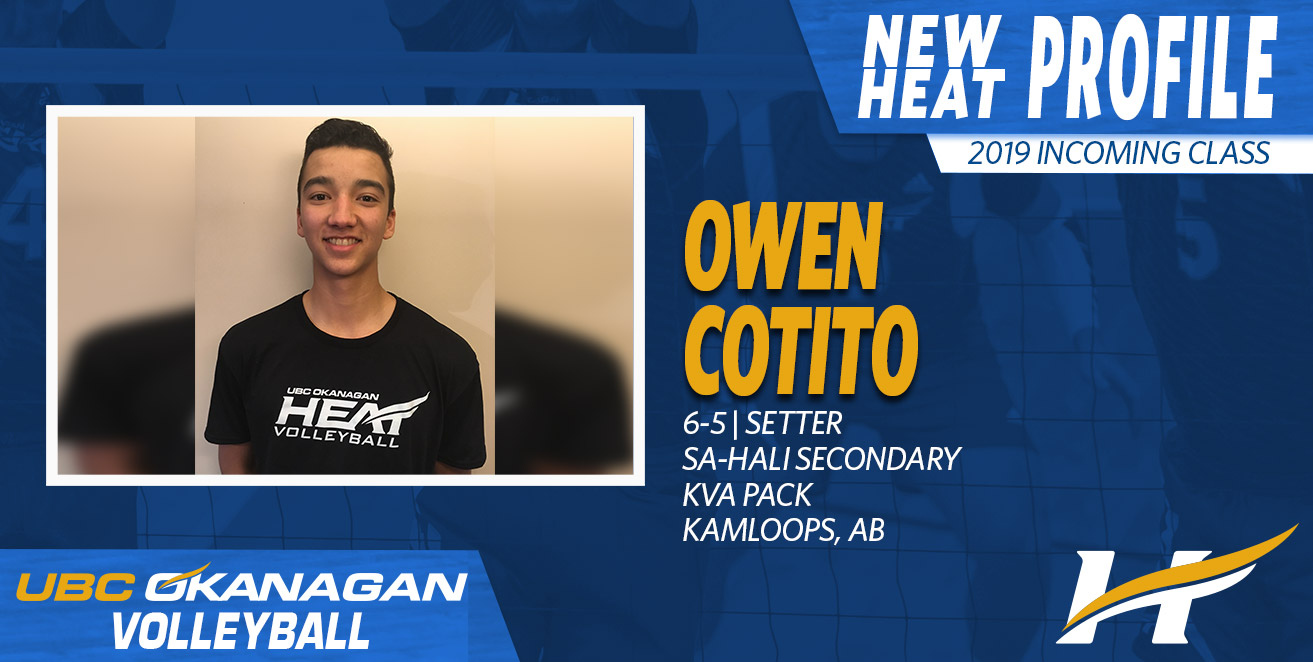 Quick thinking Owen Cotito commits to UBCO