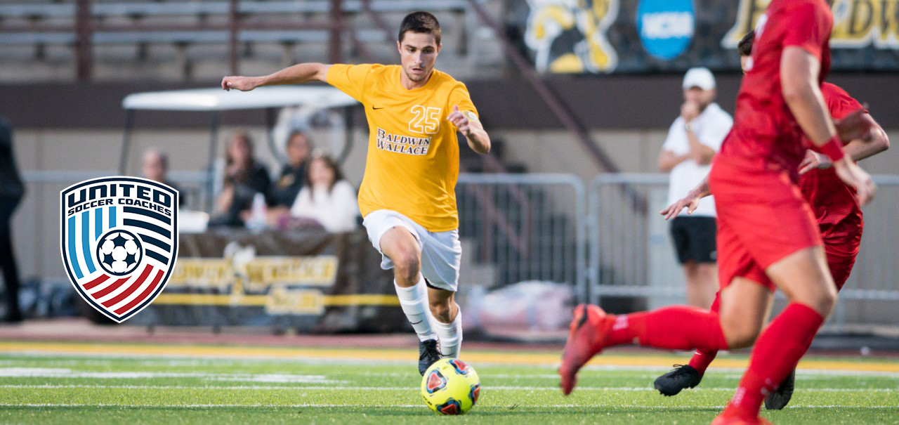 Ruple Named to United Soccer Coaches Scholar All-America Team