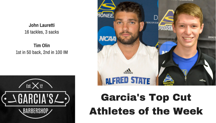 November 14th - Garcia's Athletes of the Week