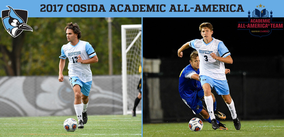 Swiercz, Rosenberger Named to Academic All-America Team