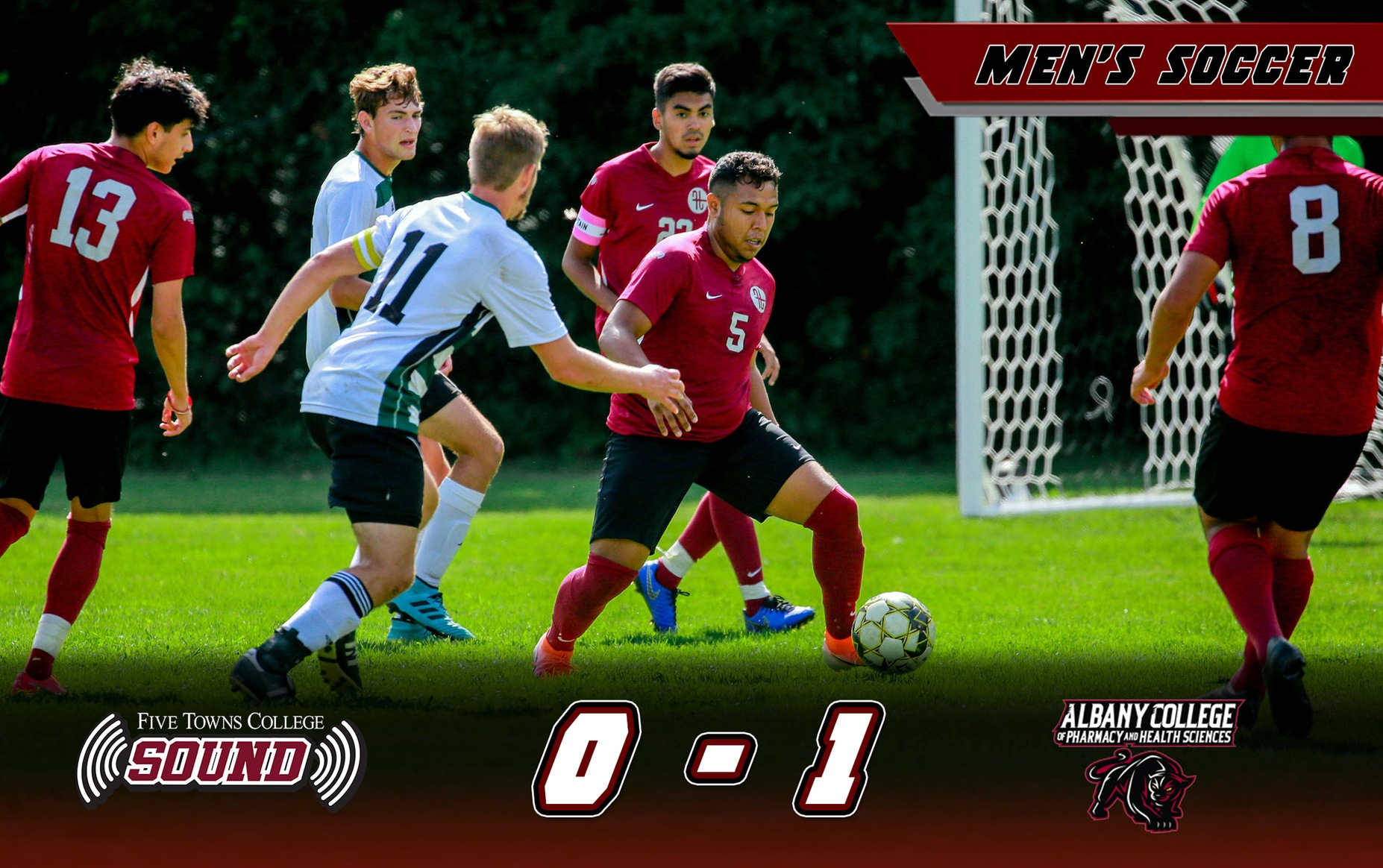 Men's Soccer Comes up Short at Albany